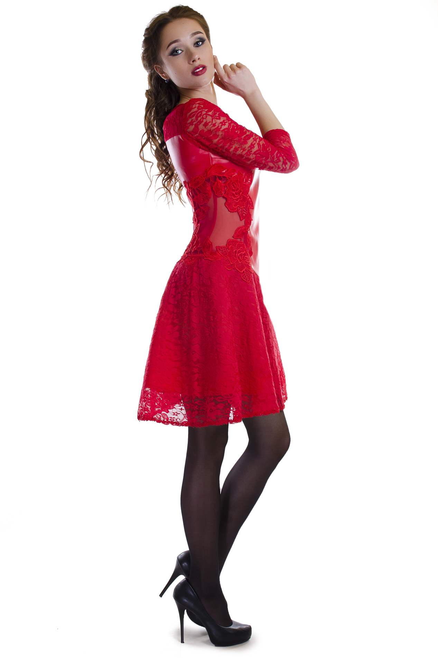 Платье для румбы