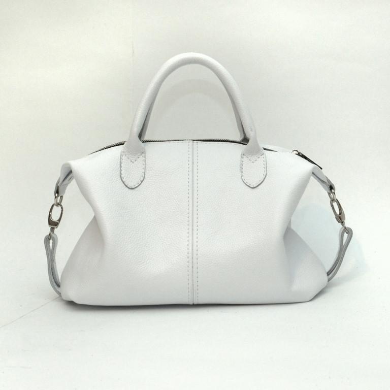 895d97b44aa2 Купить Кожаная сумка модель 20 белый флотар оптом - Женские кожаные ...