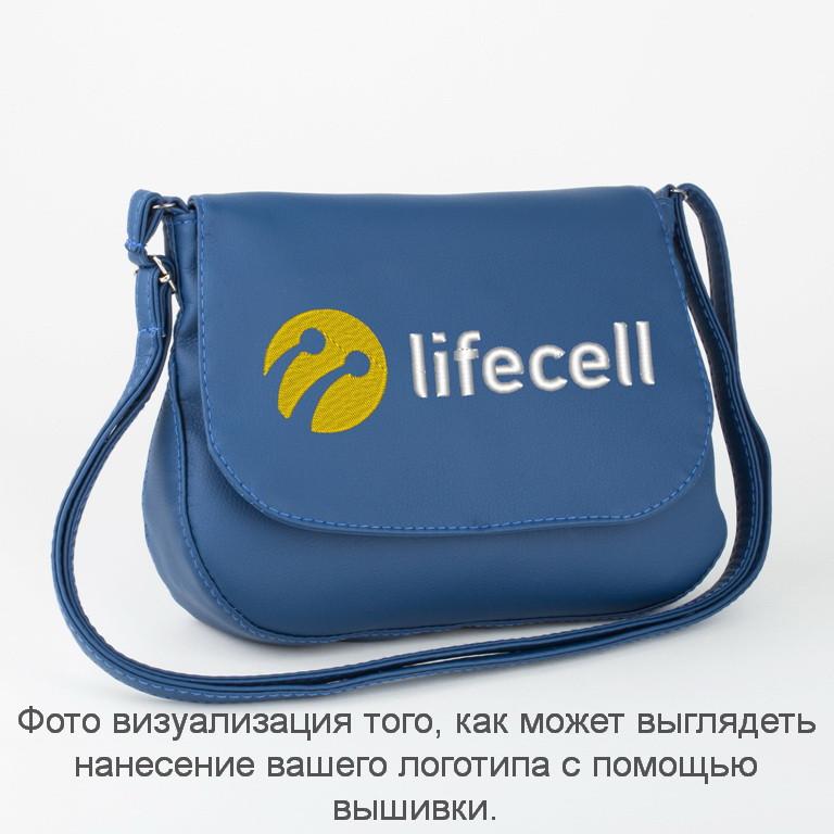 3dbc1c484a33 Купить Сумочка Габриела синий флай с лого Лайфсел оптом - Подушки ...
