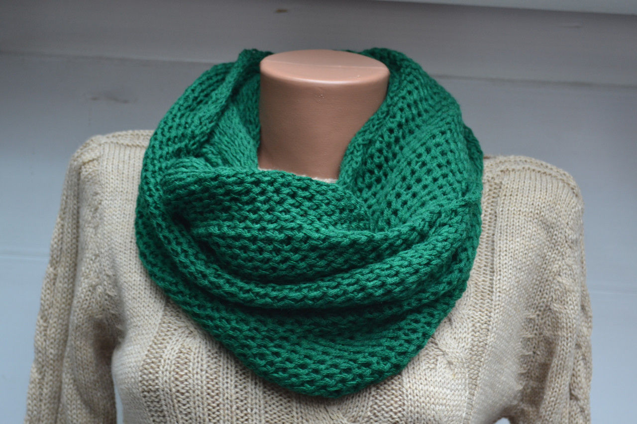 Схемы шарф хомут фото