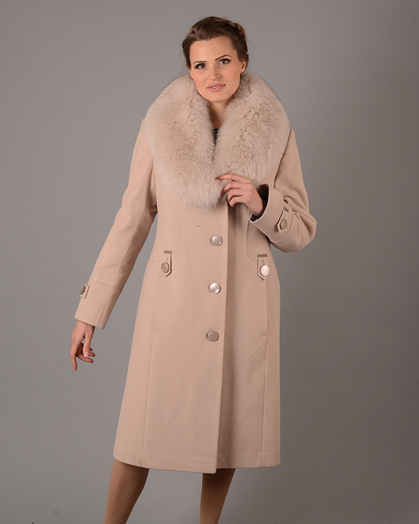 Купить Пальто зима шаль беж 5048 оптом - ЖЕНСКИЕ ПАЛЬТО ЗИМНИЕ от ... d1a21c2bf5656