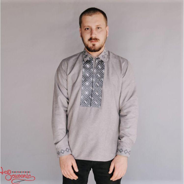 Купити Вишиванка Ромб сірий VH-1021 оптом - Вишитий одяг від ... 0d1f835d08390