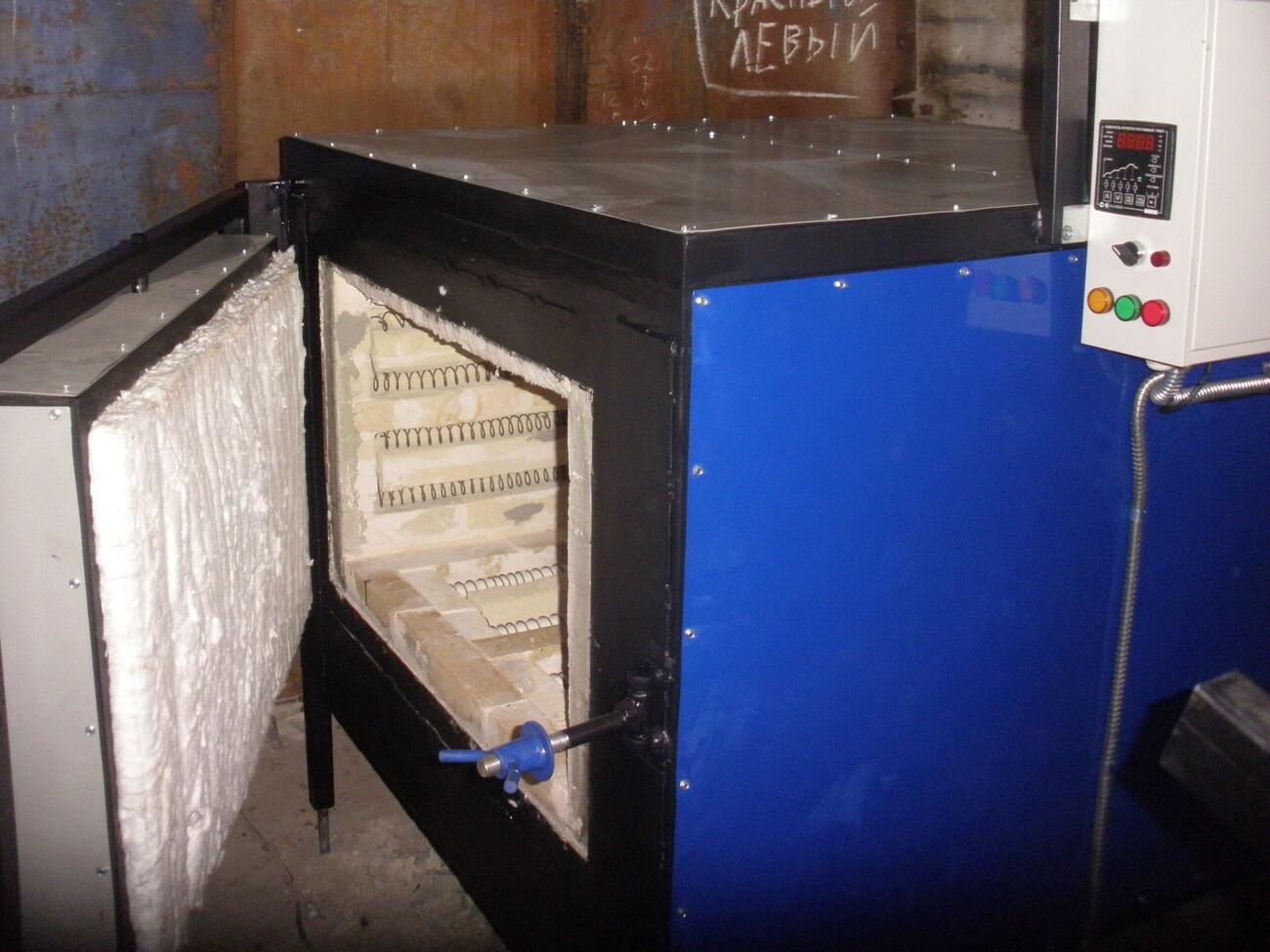 Термопечь для закалки металла