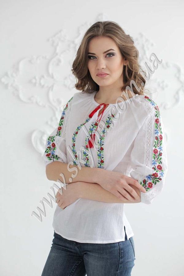Блузка Вышитая В Уфе