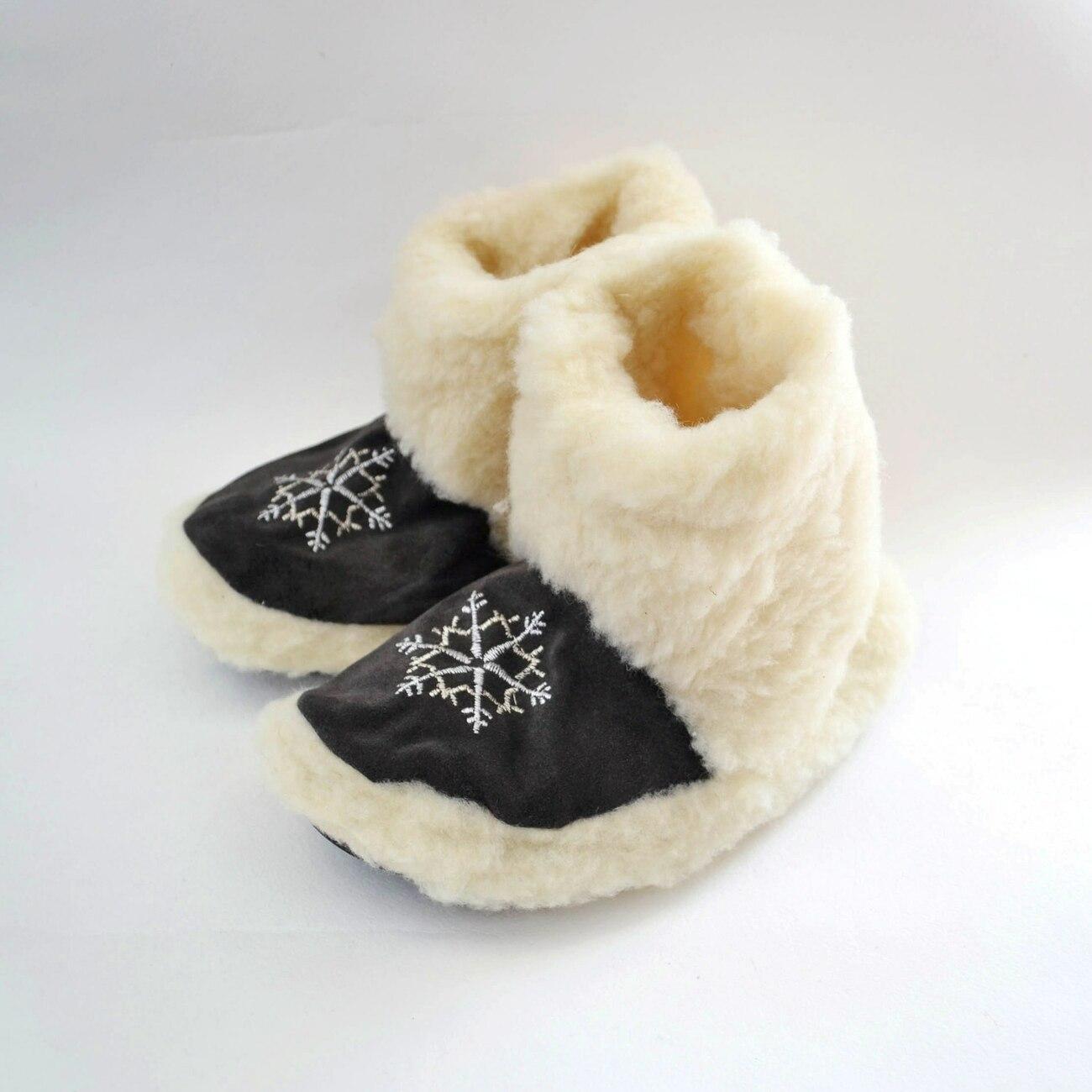 Купити Чуні з овечої шерсті ISV-1033 оптом - Вироби з вовни від ... d78309bb6c1f6